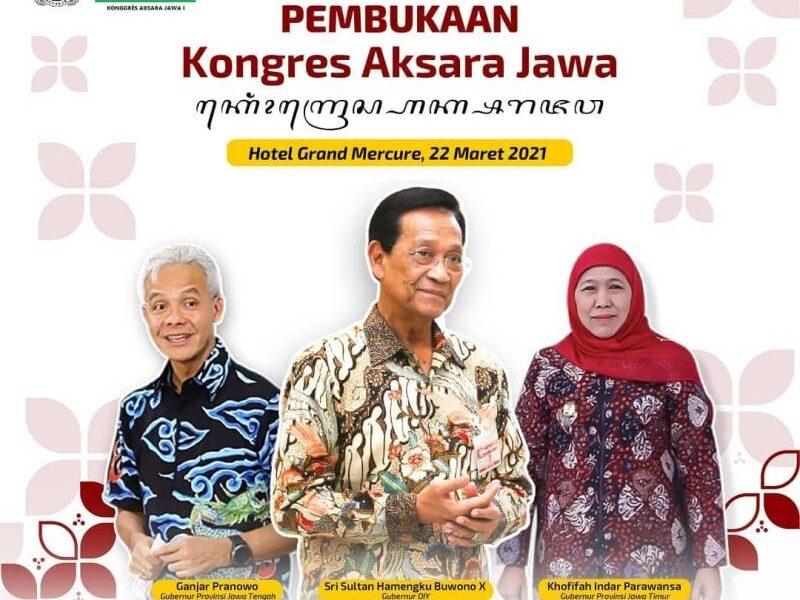 Minim Penggunaan Aksara Jawa, Disbud DIY Akan Gelar Kongres Aksara Jawa I Setelah 1922 - Suara Pemerintah