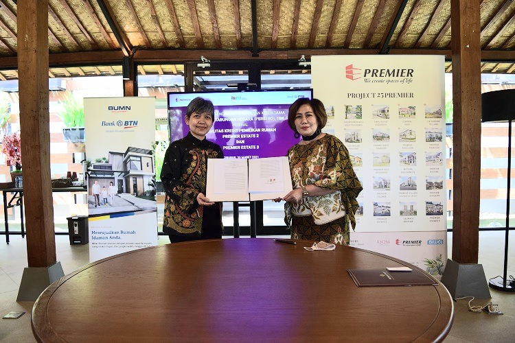 BTN Gandeng Premier Qualitas Indonesia, Realisasikan Target KPR Non Subsidi 2021