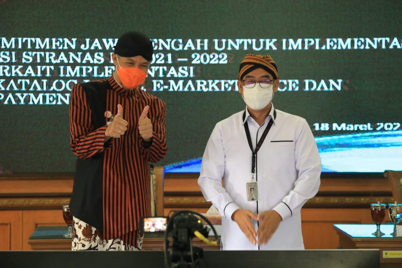 Blangkon Jateng, Komitmen Pemprov Jateng Kembangkan UMKM dan Cegah Korupsi