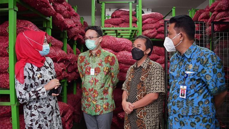 Brebes Punya Gudang SRG, Harga Bawang Merah Kini Lebih Stabil