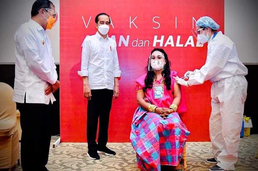 Dihadiri Presiden Jokowi, Pemkot Makassar Gelar Vaksinasi Cerdas dengan Festival Smart Vaksinasi