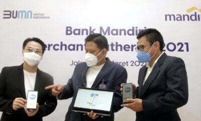 Dorong Transaksi Digital, Bank Mandiri Dukung Perkembangan Bisnis Retail di Era Pandemi