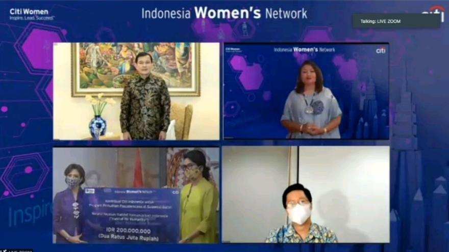 IWD 2021 - Citi Indonesia Gelar Webinar dengan Sosok Inspiratif,Soroti Kekuatan Perempuan dalam Masa-Masa Menantang - MAJALAH EKSEKUTIF # terbit sejak 1979 -