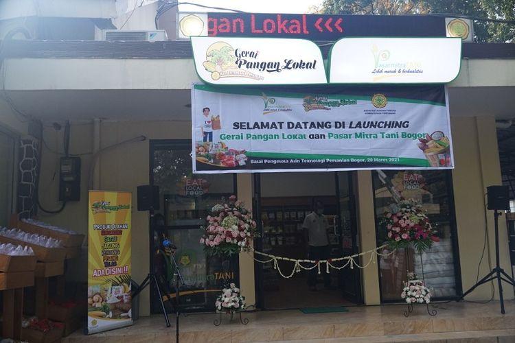 Kampanye Diversifikasi Pangan, Kementan Buka Gerai Pangan Lokal di Bogor
