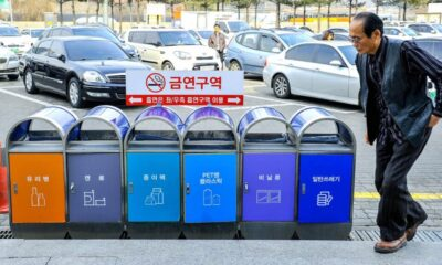 Kebiasaan Daur Ulang Masyarakat Korea, Patut Ditiru!