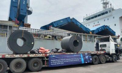 Krakatau Steel Akan Ekspor 20.000 ton Baja ke Eropa pada Maret 2021