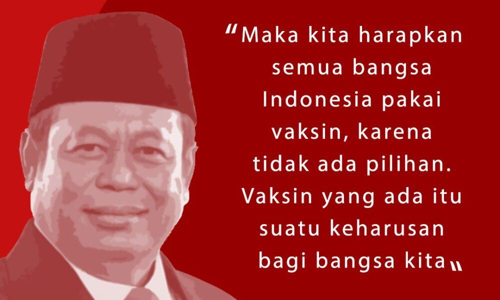 PBNU Marsudi Vaksin Bukan Kepentingan Satu Orang Seluruh Indonesia