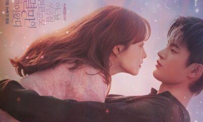 """Park Bo Young dan Seo In Guk Tampil Romantis di Poster """"Doom At Your Service"""""""