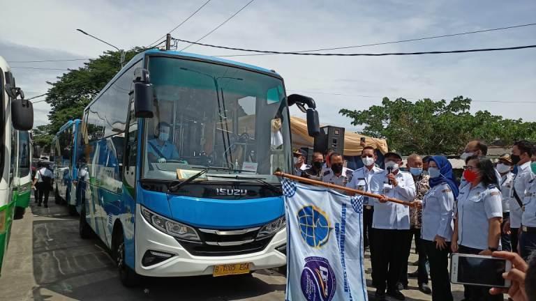 Pemkot Depok Luncurkan BRT dan JRC