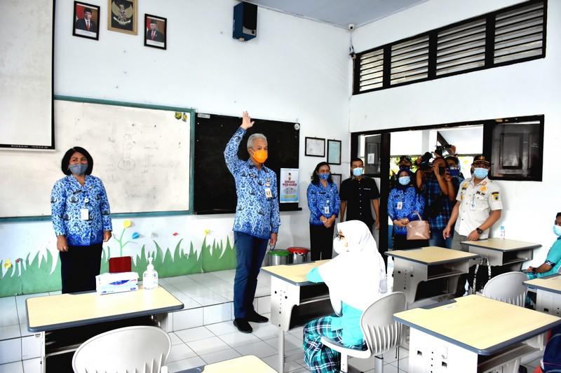 Pemprov Jawa Tengah Lakukan Simulasi Belajar Tatap Muka Bulan Depan