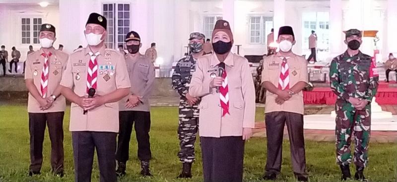 Perkemahan Era Pandemi 2021 Dibuka Gubernur Jatim - Suara Pemerintah
