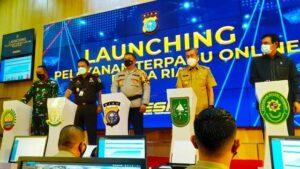Polda Riau Luncurkan Beragam Layanan Online Untuk Masyarakat