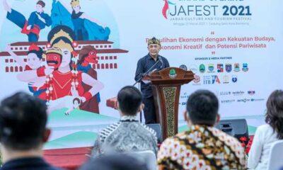 Resmikan Gelaran JaFest 2021, Menteri Teten Ajak UMKM Go Digital