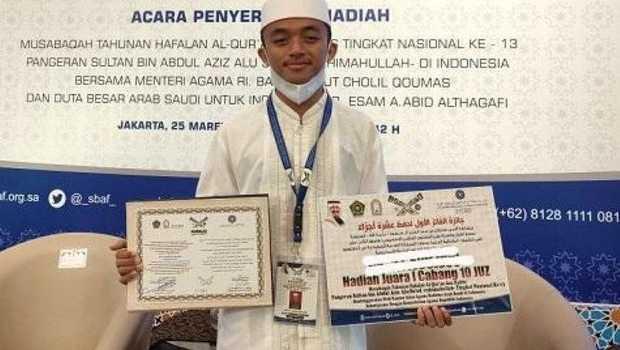 Riau Raih Peringkat I Nasional Penghafal Alquran dalam MHQH