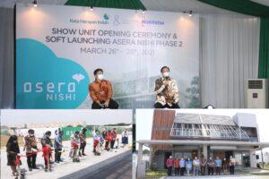 Sukses Pasarkan Cluster Asera Nishi Phase 1, Damai Putra Group & Nishitetsu Luncurkan Phase 2
