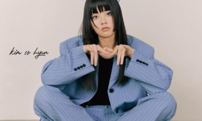 Tampil Beda, Intip Pictorial Kim So Hyun dalam Edisi Terbaru Majalah Singles