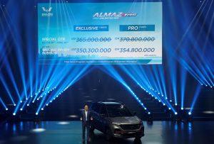 Wuling Almaz RS resmi diluncurkan di tanah air (Sumber : Istimewa)