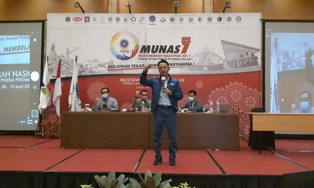 Arie Gumilar Menjabat Kembali Presiden FSPPB Periode 2021-2024