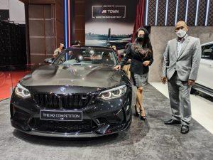 BMW M Performance Parts di Pavilion BMW Indonesia, IIMS 2021/Iwan/Sinarharapan.id