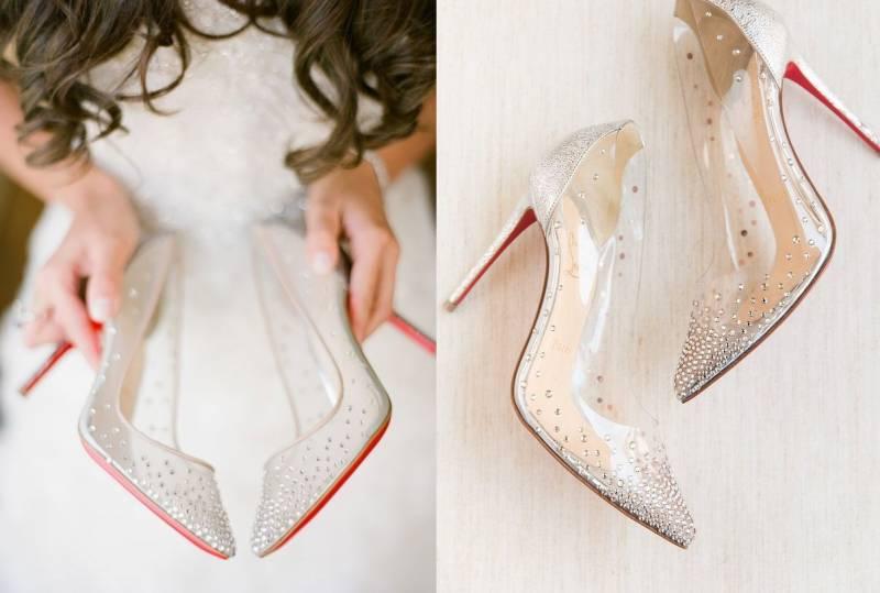 Bak Cinderella, Bridal Shoes Transparan Ini Cocok Dipakai oleh Pengantin Wanita | YuKepo.com
