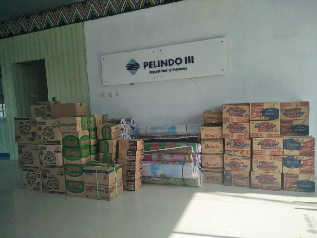 Bantu Korban Bencana NTB-NTT, Pelindo III Salurkan 3.000 Paket Bantuan