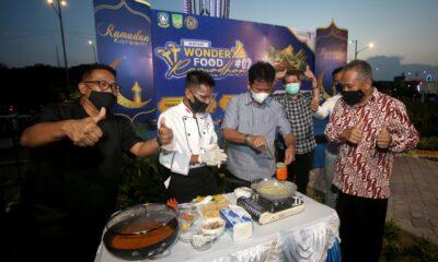 Berlokasi di Taman Dang Anom, Walikota Batam Resmi Buka Wonderfood Ramadhan Sebulan Penuh