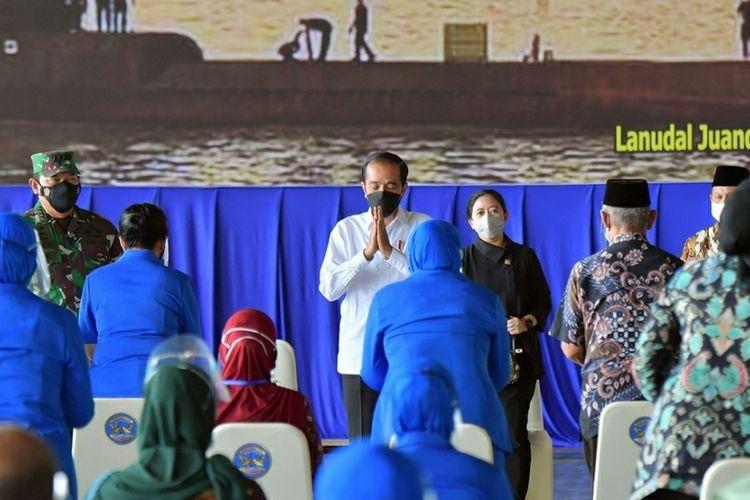 Bertemu Keluarga Korban KRI Nanggala 402, Ini Janji Presiden Jokowi