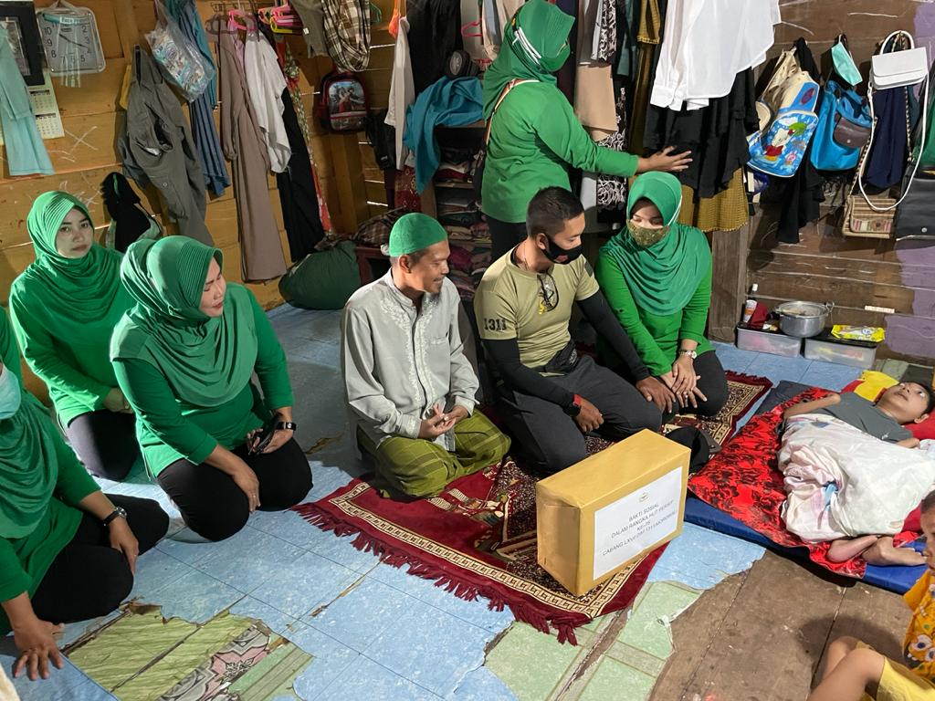 Dandim 1311 Morowali Mengajak Untuk Saling Peduli Sesama -