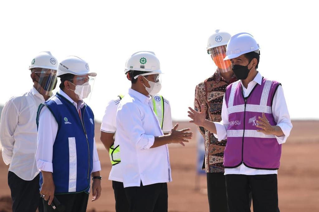 Dirut PTPP Dampingi Presiden Joko Widodo ke Grand Batang City