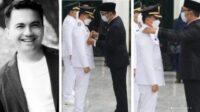 Foto Sahrul Gunawan Saat Dilantik Menjadi Wakil Bupati Bandung