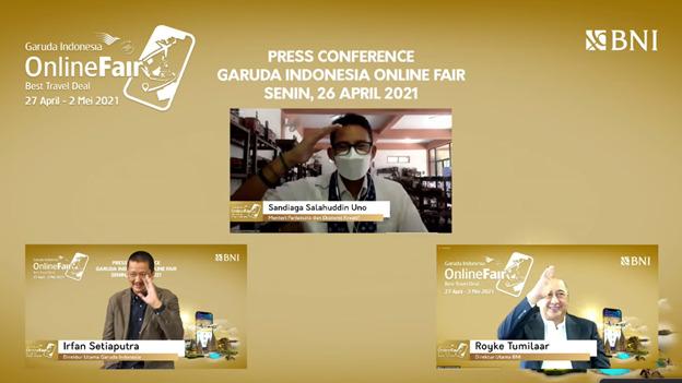 GOTF Fase 2, Garuda Indonesia Diskon Tiket Hingga 86 Persen