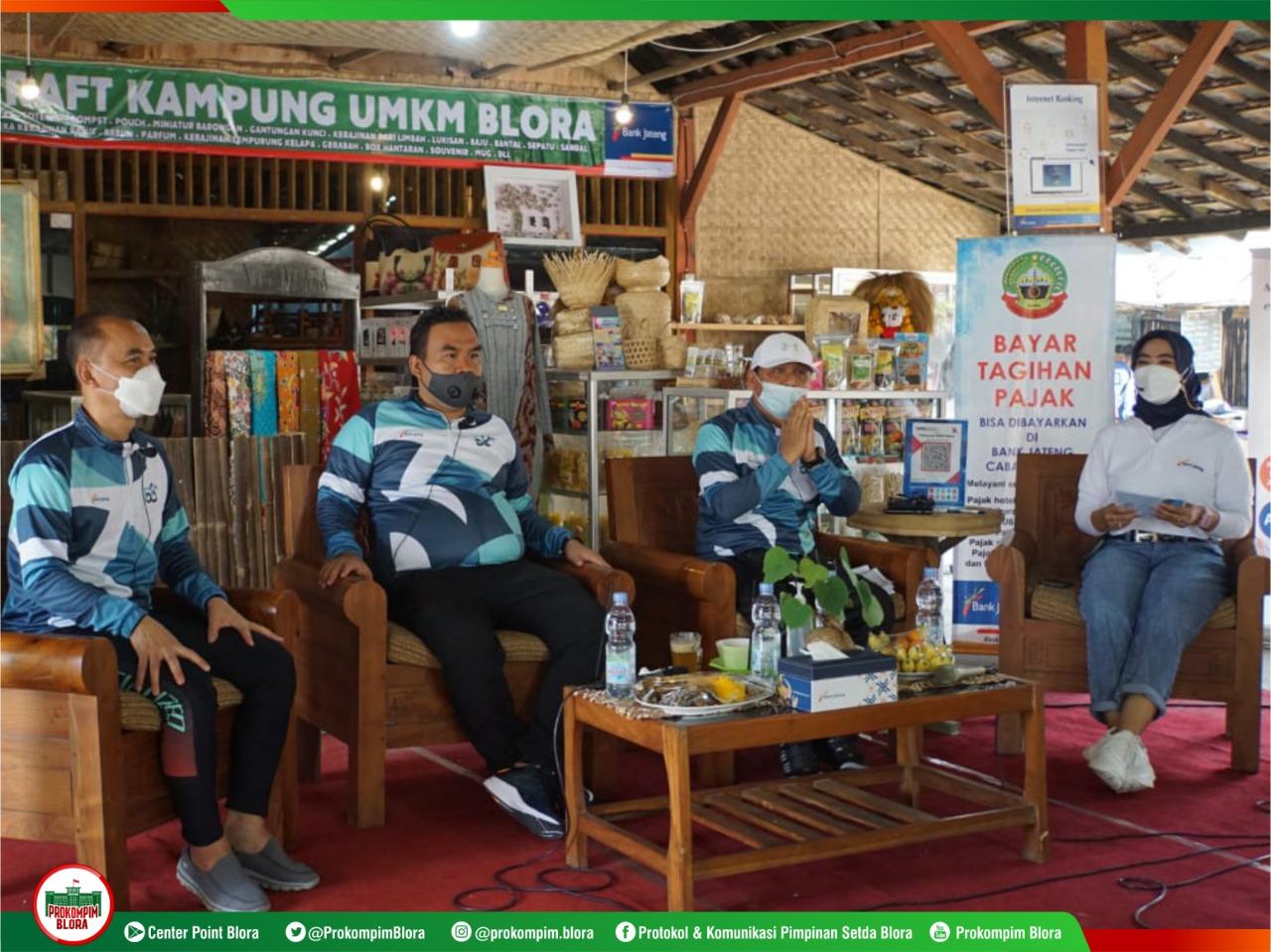 Gandeng Bank Jateng, Pemkab Berkomitmen Majukan UMKM Blora