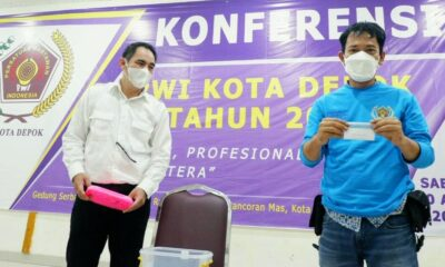 Hasil Konferwil PWI Depok Direspons Mantan Wakil Wali Kota -