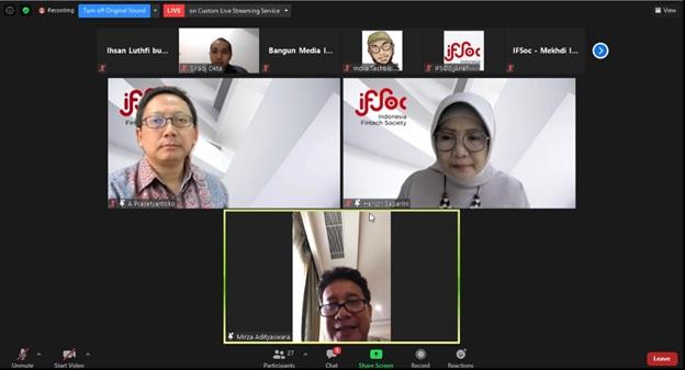 IFSoc: Fintech Potensi Besar Pendanaan UMKM