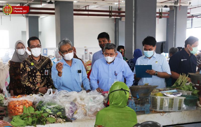 Jelang Idulfitri: Stok dan Harga Bahan Pangan di Pasar Prawirotaman Relatif Stabil