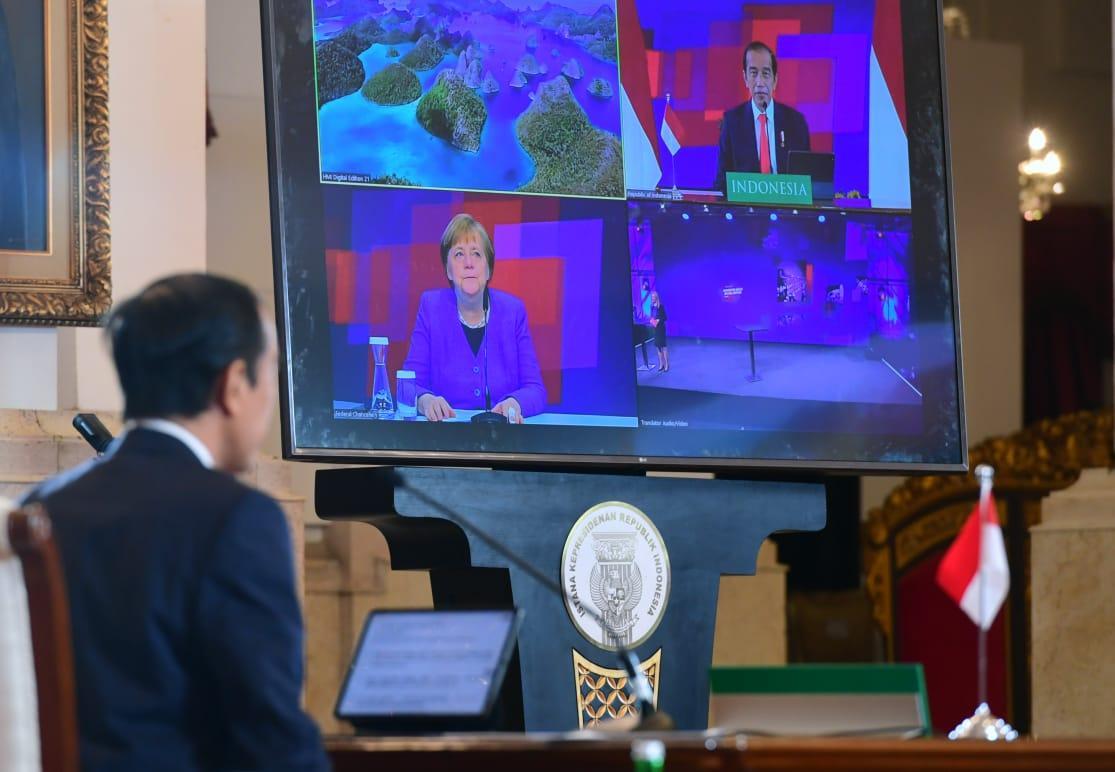 Jokowi: Ekonomi Digital & Industri 4.0 Indonesia Tercepat di Asteng