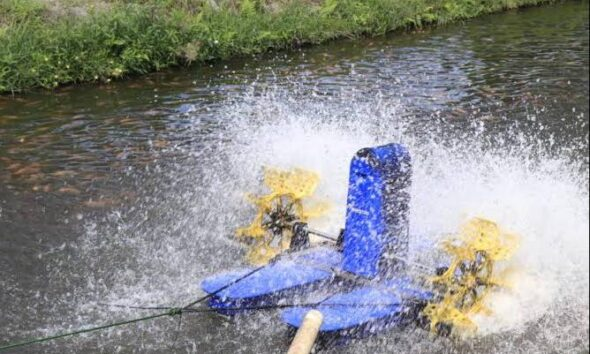 KKP Ciptakan dan Kembangkan Inovasi Kincir Air Tambak Hemat Energi