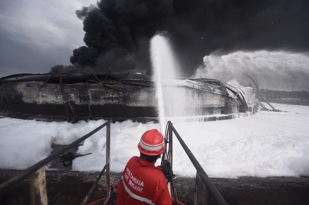 Kebakaran Kilang Balongan Diinvestigasi, Ini Sikap Pertamina