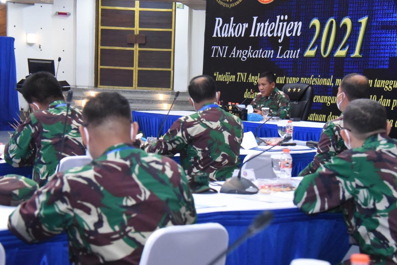 Komunitas Intelijen Harus Mampu Menjaga Marwah TNI Angkatan Laut