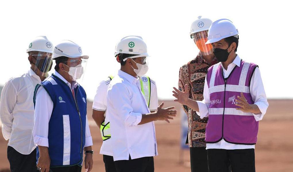Kunjungan Kerja Presiden RI Ke Grand Batang City