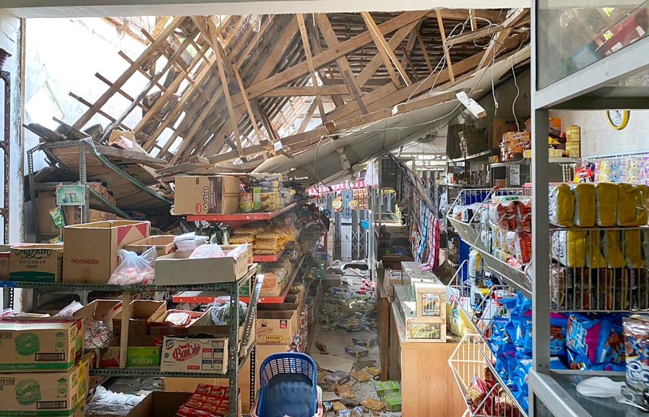 Malang Dihantam Gempa Dengan Magnitudo 6,7