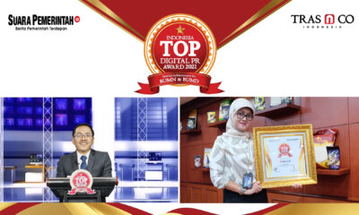 Optimalkan Digital PR, BULOG Raih Indonesia TOP Digital Public Relations Award 2021 - Suara Pemerintah