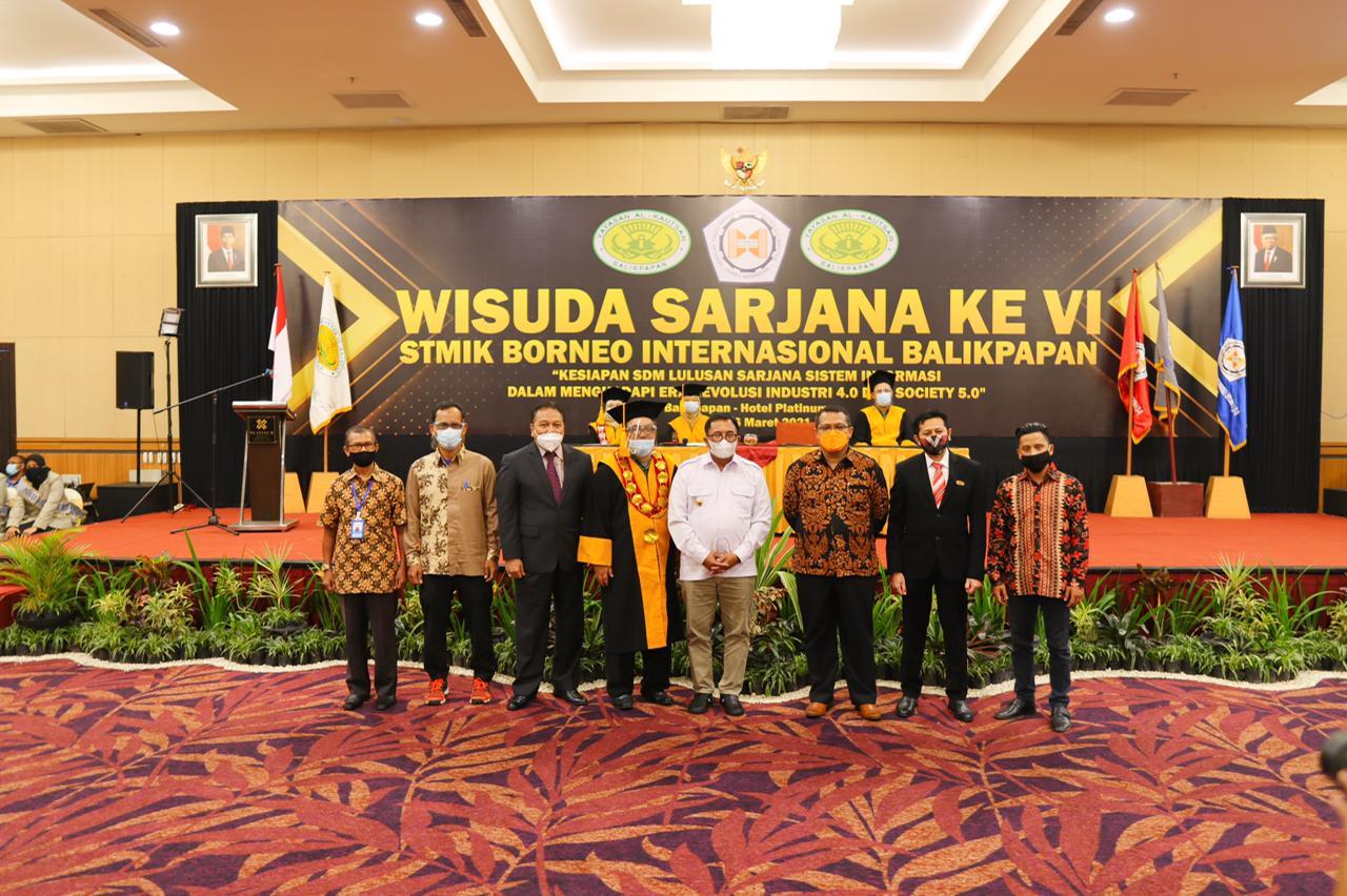 PT Traskon Jaya Bantu STMIK Borneo Internasional Balikpapan