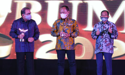 PTPP Raih Penghargaan di Ajang Anugerah BUMN Award 2021