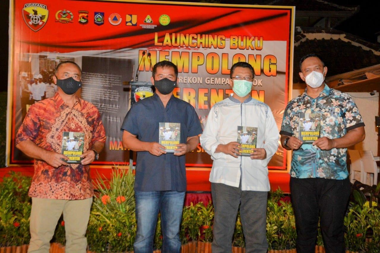 "Pangdam Udayana Luncurkan Buku ""Mempolong Merenten"" kisah Gempa Lombok"