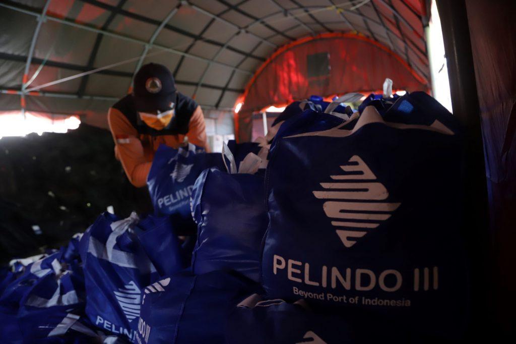 Pelindo III Kirim 1.000 Paket Sembako Kepada Korban Gempa Malang