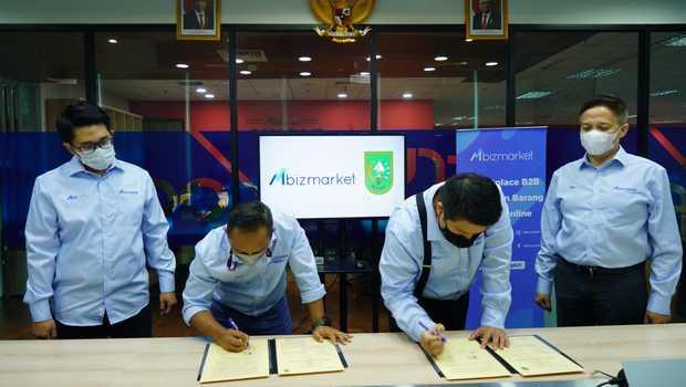 Pemprov Riau Gandeng Mbizmarket Permudah Pengadaan Barang dan Jasa,