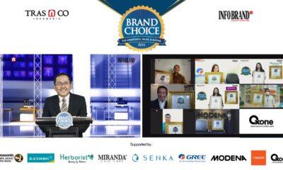 Penghargaan Brand Choice Award 2021: Apresiasi Merek-Merek Ternama