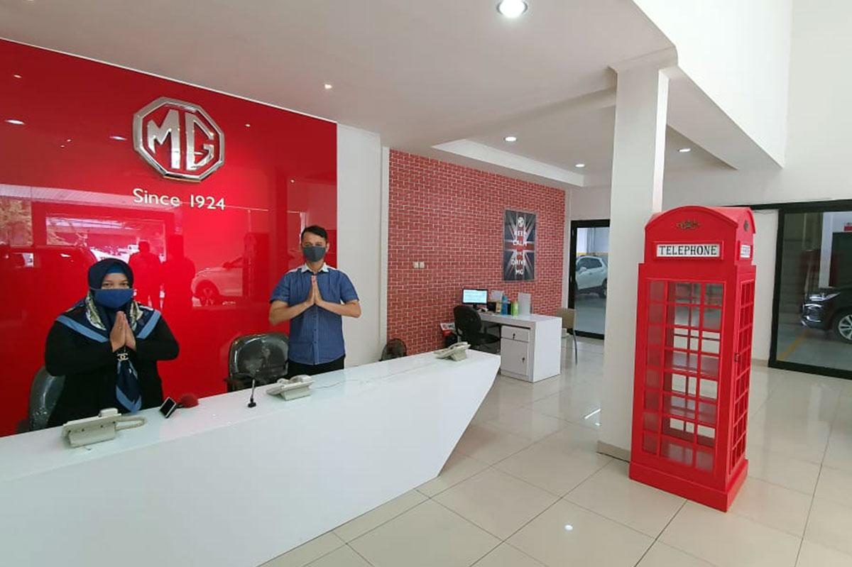 Perkuat Jaringan MG Buka Outlet di Buahbatu Bandung