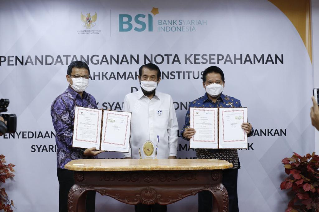 Perkuat Kerjasama, BSI Sediakan Layanan Perbankan Bagi Mahkamah Konstitusi